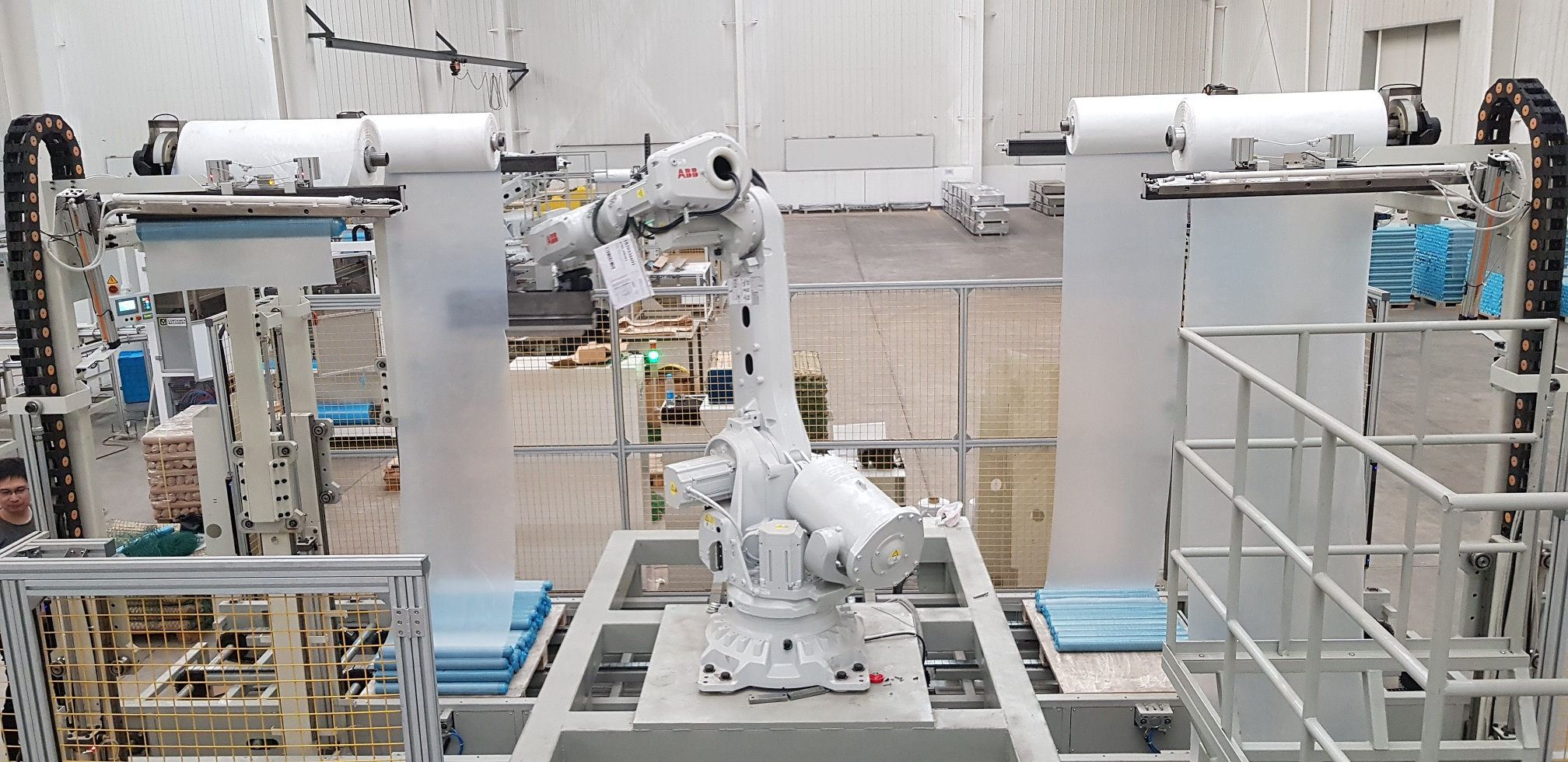 Robot Palletizer Commissioning